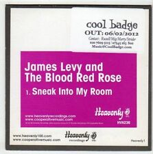 (EY989) James Levy & The Blood Red Rose, Sneak Into My Room - 2012 DJ CD