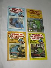 Bundle of 4 Vintage Thomas the Tank Engine Ladybird books. 1980s.