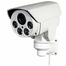 CCTV 720P Mini Outdoor IR Bullet IP PTZ Camera 4x Optical zoom POE 1.3MP HD 8GB