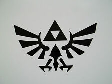 1 x 13cm Zelda Sticker - Vinyl Decal Triforce Car Skate Snowboard PC Computer PS