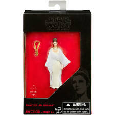 "Star Wars Force Awakens Black Series 3.75"" Princess Leia Organa Carrie Fisher DE"