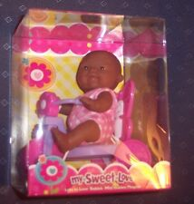 "NEW Berenguer Doll AA Lots To Love Babies 5"" Mini Nursery PlaySet Girl On Trike"