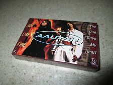 AALIYAH The One I Gave My Heart To/Hot Like Fire 1997 CASSETTE Single R&B Soul