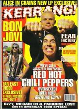 Red Hot Chili Peppers on Kerrang Cover 1995      Bon Jovi