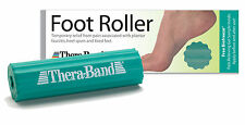 NEW THERA-BAND FOOT ROLLER MASSAGER HELPS PLANTAR FASCIITIS & FREE 3g BIO FREEZE