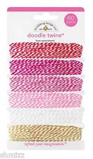 Doodlebug Design Sweetheart Collection Doodle Twine Love Assortment 4076