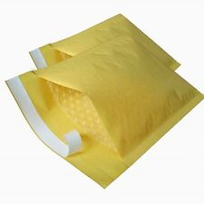 100 Gold Padded Bubble Envelopes 165x165mm CD