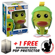 FUNKO POP LOONEY TUNES DUCK DODGERS K-9 VINYL FIGURE + FREE POP PROTECTOR