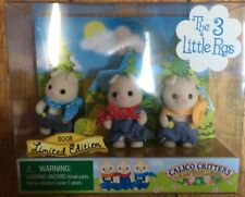 Calico Critters Three Little Pigs Limited Edition Set From 2008 CC9487