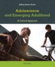 ADOLESCENCE AND EMERGING ADULTHOOD 5TH ED ARNETT ISBN 9780205899517 GREAT COND.