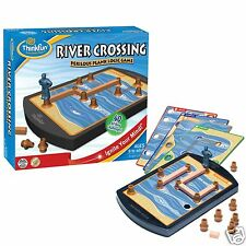 River Crossing Game - Perilous Plank Logic Crossing Fun for Ages 8-80 - NEW