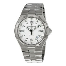 Vacheron Constantin Overseas Automatic Silver Dial Stainless Steel Mens Watch
