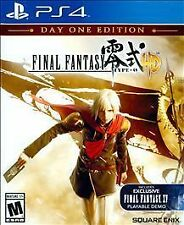 Final Fantasy Type-0 HD -- Day One Edition (Sony PlayStation 4, 2015)