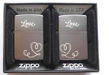 119175 Zippo en TU MECHERO con grabado Love Heart-socio set