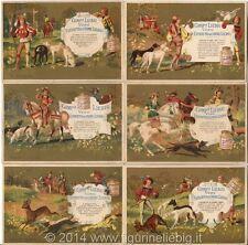 Chromo Liebig Sang. 188 ITA Caccia al Cervo I ANNO 1887
