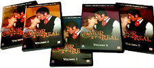 Amor Real, Vol1-5, BRAND NEW FACTORY SEALED 5-DVD SET (2006, Time/Life)
