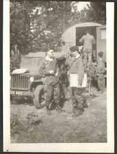 PHOTO ARMEE CAMP DE MAILLY JEEP 1973