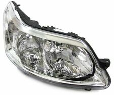 clear chrome finish front right side headlight front light for Citroen C4 04-09