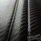 Premium 3D Carbon Folie schwarz Luftkanäle BLASENFREI [7,89€/m²] Matt Glanz Auto