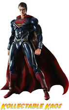 Superman - Man of Steel - Superman Play Arts Kai Action Figure NEW IN BOX