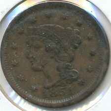 US Coin  1851 large cent....................C-10011