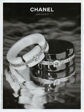 Publicité Advertising 2013  CHANEL Joaillerie Bijoux collection mode