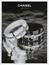 Publicité Advertising 2013  CHANEL Joaillerie Bijoux collection mode