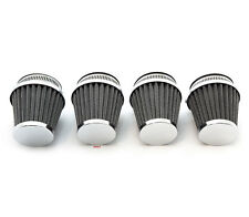 Chrome Air Filter Pod 54mm - Set of 4 - Honda Motorcycle 1979-1982 CB750 CB900