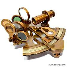 SOLID BRASS SEXTANT ANTIQUE SEXTANT HANDMADE OLD SEXTANT NAUTICAL MARINE GIFT