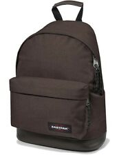 Eastpak Rucksack WYOMING Braun Schulrucksack mit Lederboden City Bag Crafty Brow