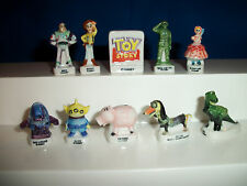 TOY STORY Set of 10 Mini French Porcelain FEVES Miniature Figurines DISNEY PIXAR