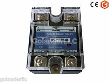 25A 3-32VDC to 24-480V AC Solid State Relay SSR  + Clear Cover