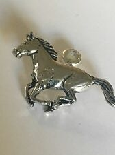 Running Horse Charm with 5mm Hole to fit Pendant Charm Bracelet European refA19