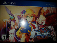 PS4 BlazBlue: Central Fiction Limited Edition |BRAND NEW SEALED Playstation 4