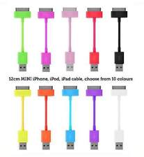 Short USB Data cable sync charge lead for Apple iPod iPhone 4S 4 4G 3GS 3