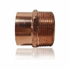 "1 1/2"" Threaded Male Adapter MIP x C - COPPER PIPE FITTING"