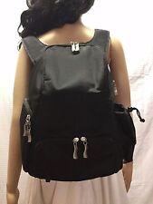 Backpack bag, Large Black Nylon Backpack