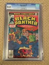 Black Panther 1 CGC 8.0 (1977- 1st comic of his own title)