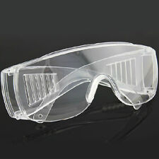 Vented Safety Goggles Glasses Eye Protection Protective Lab Anti Fog Clear Pop