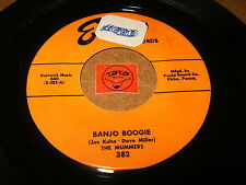 THE MUMMERS - BANJO BOOGIE - STRING BAND BOOGIE  / LISTEN - ROCK COUNTRY