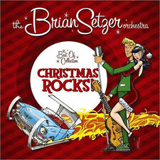 BRIAN SETZER ORCHESTRA - CHRISTMAS ROCKS: THE BEST OF COLLECTION - CD - Sealed