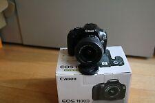 Fotocamera Canon EOS 1100d reflex digitale + obiettivo 18-55 7100 scatti!