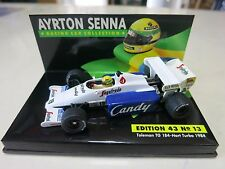 Lungo 1:43 - Ayrton Senna Collection-Toleman TG 184-Hart Turbo 1984