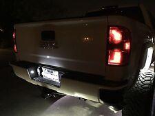 2014-2016 Chevy Silverado & GMC Sierra WHITE LED LICENSE PLATE & CARGO LED LIGHT