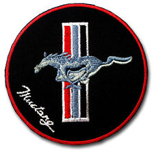 Horse Mustang Patch Iron on Bronco Colt Steed Stud Stallion Ford Shelby GT 500