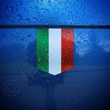"Flag of Italy Car Sticker - 1 3/8"" x 1 3/4"" - Italian Decal Vinyl Emblem"
