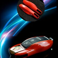 Solid Red FOB Remote Key Case Casing Housing Cover Replacement Color Shell Color