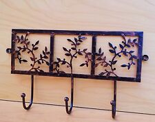 Headbourne Wall Fix Floral Metal Hanger Decorative Hooks Balls End Hooks