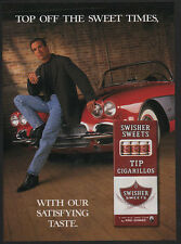 1997 SWISHER SWEETS Cigars - Old Stingray Corvette - VINTAGE AD