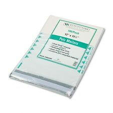 Quality Park Recycled White Poly Mailer with First Class Border - 46299